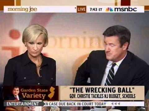 Governor Christie on MSNBC's Morning Joe