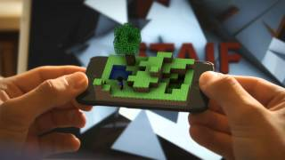 getlinkyoutube.com-Minecraft Pocket Edition New Version (Alpha 0.9.6) 3D-Animation Download