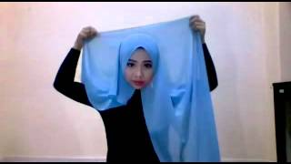 getlinkyoutube.com-PAKAI WIDE SHAWL KEKNIS CARA MUDAH