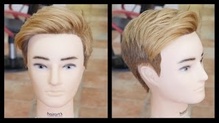 getlinkyoutube.com-Fernando Torres 2015 Haircut & Hair Color Tutorial - TheSalonGuy