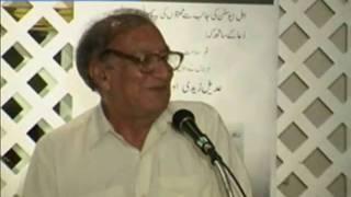 An evening with Urdu poet Ahmad Faraz [Sham E Faraz: Urdu Mushaira]