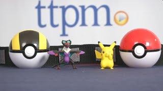 getlinkyoutube.com-Pokemon XY Clip 'n' Carry Poke Ball Belt Pikachu/Noivern from TOMY