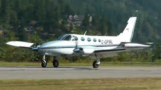 getlinkyoutube.com-Cessna 340 Approach and Landing