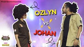 Johan & Ozlyn : Bila suami isteri soal menyoal riuh jadinya