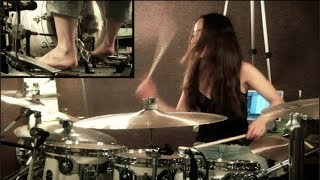 getlinkyoutube.com-BRING ME THE HORIZON - SHADOW MOSES - DRUM COVER BY MEYTAL COHEN