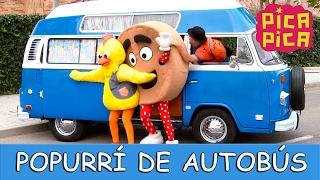 getlinkyoutube.com-Pica Pica - Popurrí de Autobús (Videoclip Oficial) - English Pitinglish