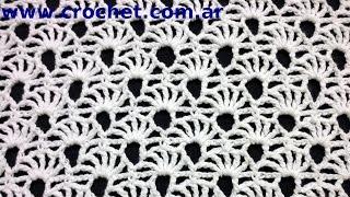 getlinkyoutube.com-Punto Fantasía N° 73 en tejido crochet tutorial paso a paso.