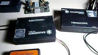 отключить антенну ГЛОНАСС прибор galileo 5.0 потеря спутников