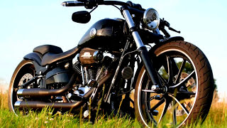 getlinkyoutube.com-Harley Davidson Breakout Custom FXSB Softail Umbau