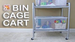 getlinkyoutube.com-DIY Hamster Bin Cage Cart by Hammy Time