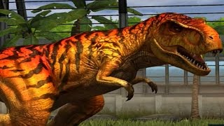 getlinkyoutube.com-Jurassic World - The Game - T-Rex, Tyrannosaurus Rex [Evolved 3]