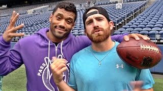 getlinkyoutube.com-Seattle Seahawks Edition ft. Russell Wilson | Dude Perfect