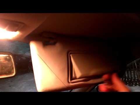Козырьки с подсветкой на Audi A4 B5