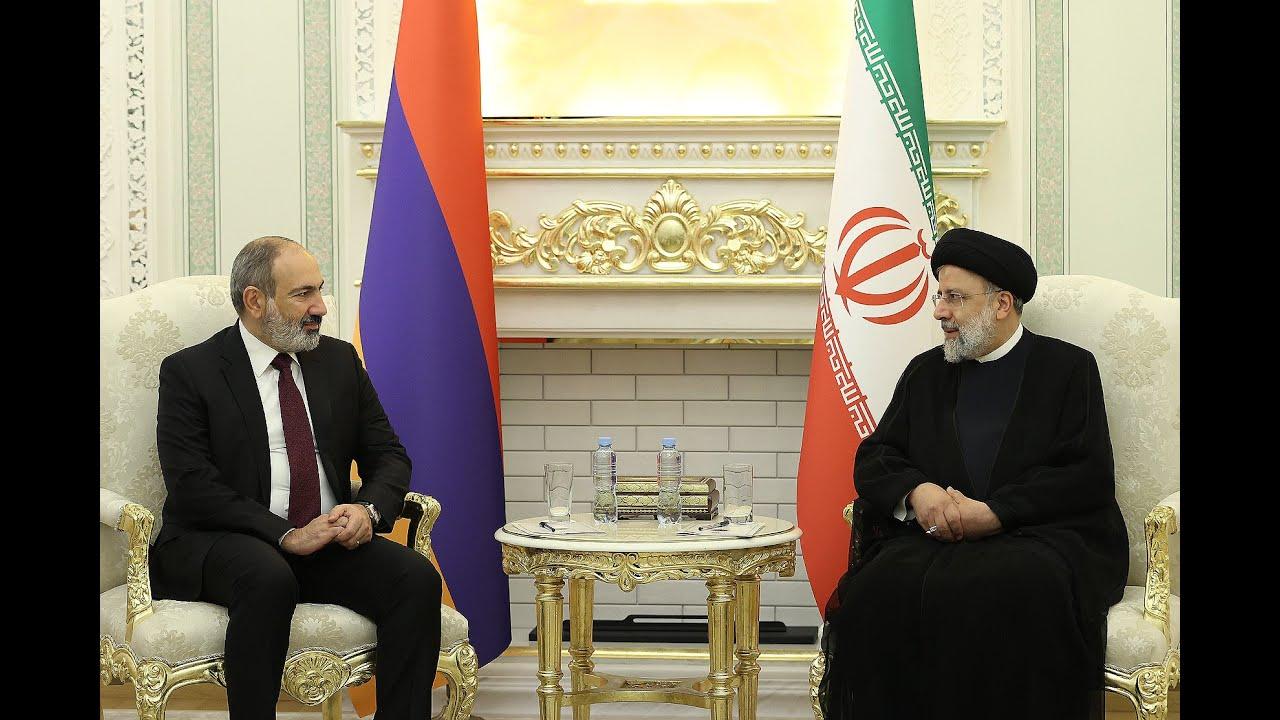 ՀՀ վարչապետը և Իրանի նախագահը քննարկել են երկու երկրների միջև բեռնափոխադրումների անխափան կազմակերպմանը վերաբերող հարցեր