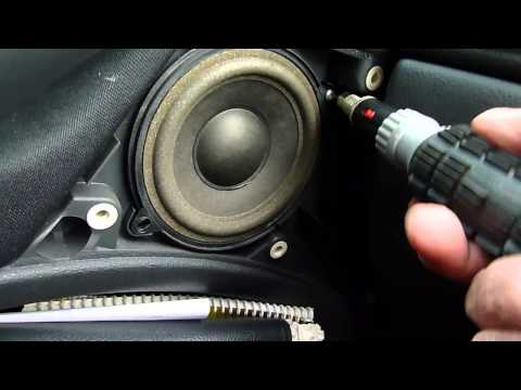 How to fit new car speakers.