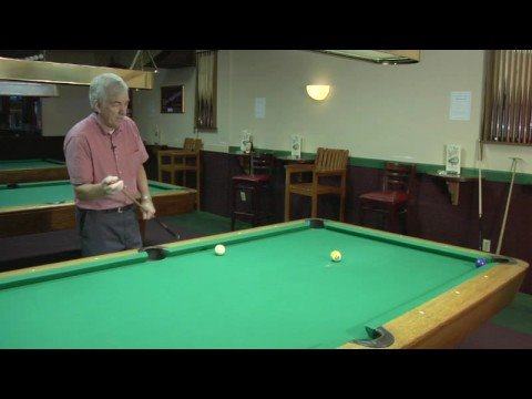 How to Play Billiards : Billiards: Curving the Cue Ball