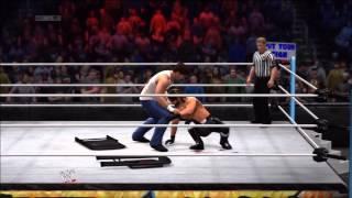 WWE 2K14: CAW's: Custom Signatures & Finishers - Dean Ambrose
