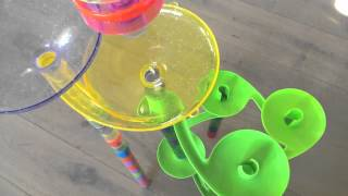 getlinkyoutube.com-Marble run #3 Spirals! ^_^
