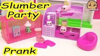 getlinkyoutube.com-Slumber Party Pillow Prank Play Video of Shopkins Season 5 Exclusives , Cookieswirlc