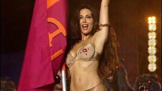getlinkyoutube.com-Sabrina Ferilli si spoglia per la Roma.