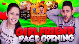 getlinkyoutube.com-MOTM IBRAHIMOVIC - INFORM STRIKER ROBBEN SPECIAL GIRLFRIEND PACK OPENING / FIFA 16 ULTIMATE TEAM