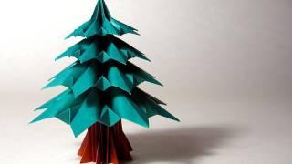 getlinkyoutube.com-Christmas Origami Instructions: Fir Tree (Francesco Guarnieri)