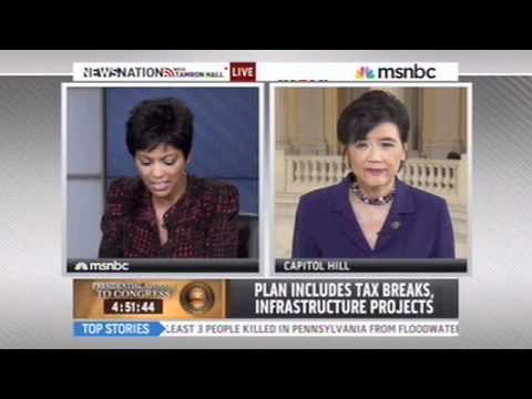 Rep. Chu Discusses Job Creation with Tamron Hall