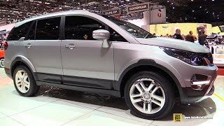 getlinkyoutube.com-Tata Hexa Concept - Exterior and Interior Walkaround - 2015 Geneva Motor Show
