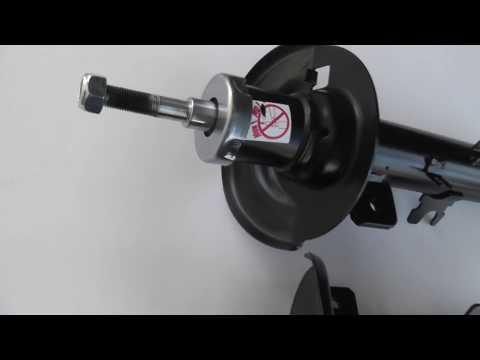 Амортизатор передний Пежо 301 Ситроен Ц Элиз Pegeot 301 Citroen C Ellysee
