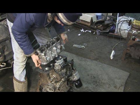 1.9 turbo diesel ставим и затягиваем головку блока цилиндров часть 14