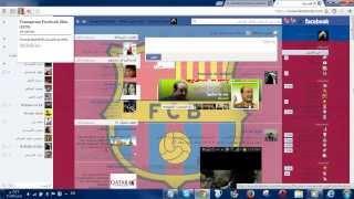 getlinkyoutube.com-تعليم تغير شكل الفيس بوك 2013/2014