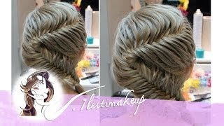 getlinkyoutube.com-Trenza de 2 cabos en S. #braid