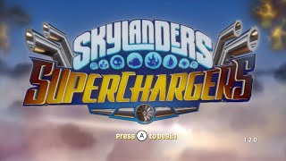 SKYLANDERS SUPERCHARGERS PS4 GAMEPLAY NIGHTMARE MODE PART 4 EXPLORING THE ACADEMY