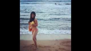 getlinkyoutube.com-Shenaz Treasurywala   Delhi Belly Actress   MTV VJ bikini video exclusive   2