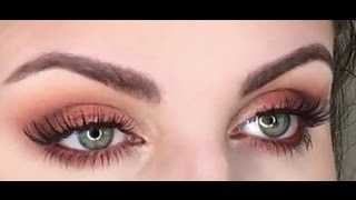getlinkyoutube.com-morphe soul of summer palette | eye makeup tutorial | warm smokey eyes