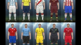 getlinkyoutube.com-kits para 15 selecciones pes 2016 pc