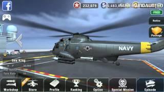 getlinkyoutube.com-[GUNSHIP BATTLE] NEW UPDATE - SH-3 Sea King Upgrade/Weapons System