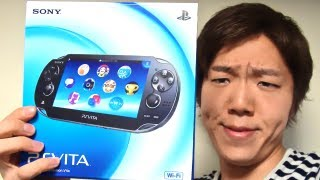 getlinkyoutube.com-PS VITA 買ったぜ! I bought PS VITA!