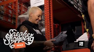 getlinkyoutube.com-Amber Rose Goes Sneaker Shopping With Complex