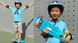 크루져보드 초보 마이린의 보드 입문기 랑스 플래시 롤러보드 야외놀이 서울숲 ♡ 인기 장난감 리뷰 및 놀이 Rangs Flash Rollerboard | 마이린TV MyLynn TV