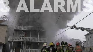 getlinkyoutube.com-3-Alarm fire guts apartment building in Lehighton, PA 01.09.17
