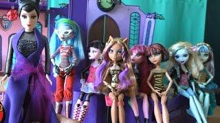getlinkyoutube.com-Игрушки для девочек, Школа монстров, серия 109, Малефисента отменила уроки