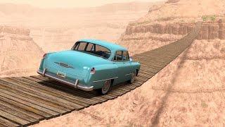 getlinkyoutube.com-CAN YOU CROSS THIS BRIDGE? (BeamNG.Drive)