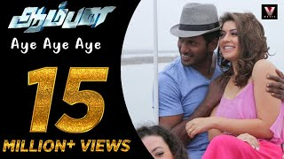 getlinkyoutube.com-Aye Aye Aye - Official Video Song | Aambala | Vishal,Hansika | Sundar C | Hiphop Tamizha