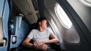 getlinkyoutube.com-12 Stunden im Flugzeug! | West Coast Trip #1 | Dner