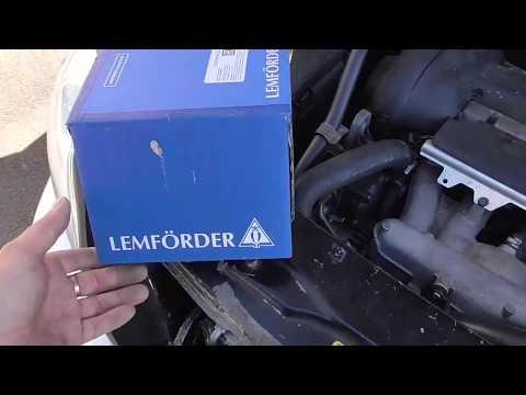 Вольво хс90 опора двигателя правая(замена на асфальте)