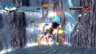 getlinkyoutube.com-Dragon Ball Xenoverse - Fukattsu no F - SSGSS Goku / Vegeta & Golden Frieza (Download link)