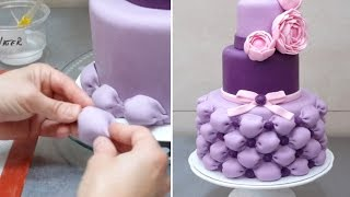 getlinkyoutube.com-Billowed Cake - How To by CakesStepbyStep