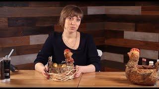 getlinkyoutube.com-«Ручная работа». Курочка в технике папье-маше (15.04.2015)