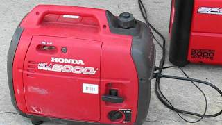 getlinkyoutube.com-Review CPE Generator 2000 watt inverter VS Honda EU2000i